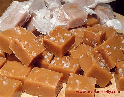 Handmade Caramels - recipes sea salt caramels