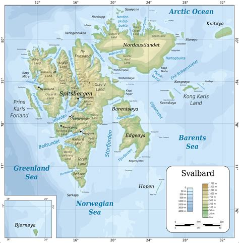 topographic map of file topographic map of svalbard svg wikimedia commons