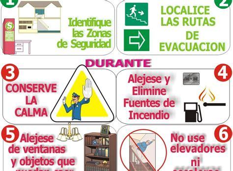 imagenes para colorear que hacer en caso de sismo patricia barron que hacer en caso de sismo