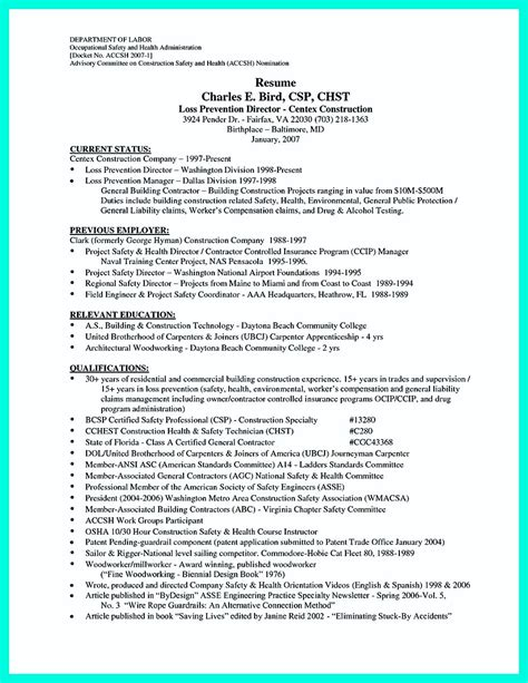 Construction Worker Resume by Construction Worker Resume Exle To Get You Noticed
