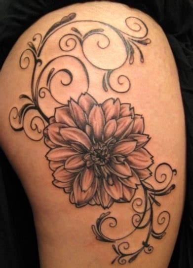dahlia flower tattoo designs best 25 dahlia ideas on dahlia flower
