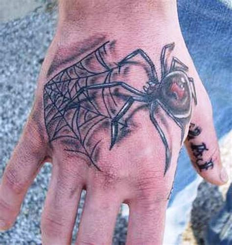 spider tattoo on hand gang 42 best images about spider spin tattoo on pinterest