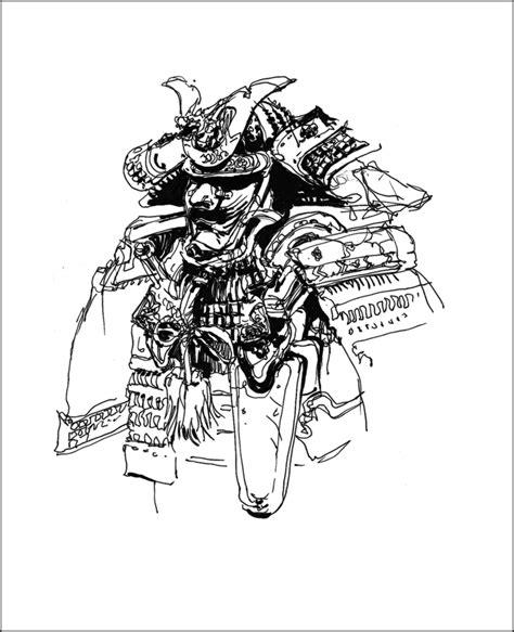 sketchbook japanese band samurai sketching tarosan