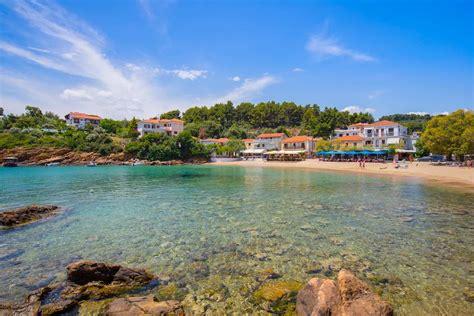 micro beach beaches of pelion greece