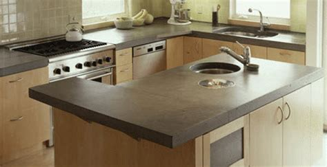 Innovative Countertops by Materials For Your Kitchen Countertops