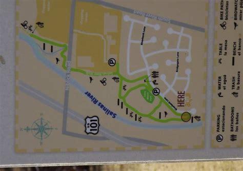 salinas river california map salinas river walk paso robles new river trail