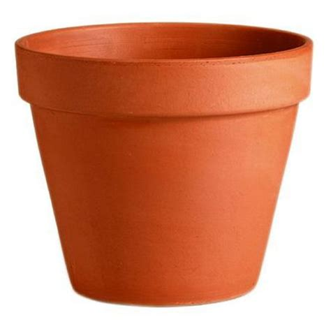 pots for plants terracotta plant pot 25cm at homebase co uk