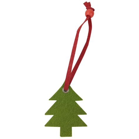 mini felt christmas tree ornament olive