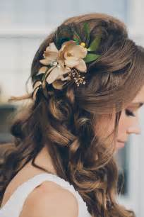 Gorgeous wedding hairstyle with flower pinterest