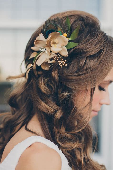 wedding hairstyles flower 17 simple but beautiful wedding hairstyles 2017