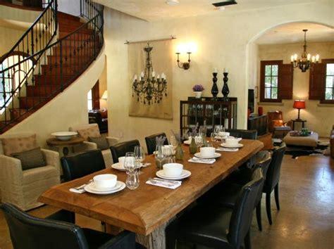 Rustic Italian Dining Room Decor Photo Page Hgtv