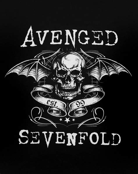Kaos Avenged Sevenfold A7x Logo 1 foto avenged sevenfold image collections wallpaper and