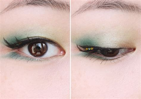 Eyeliner Shu Uemura thenotice brave visions of shu uemura greens a makeup