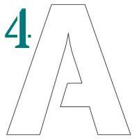 printable stencil letters 4 inch 1 to 12 inch stencil letters to print stencil letters org