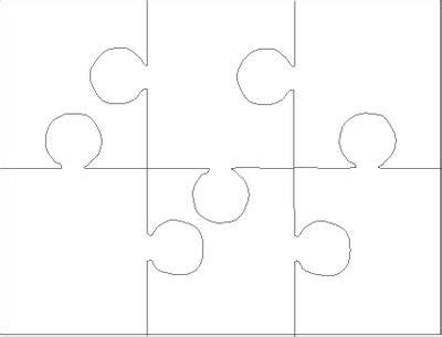6 jigsaw template jigsaw puzzle template 6 pieces patterns textures