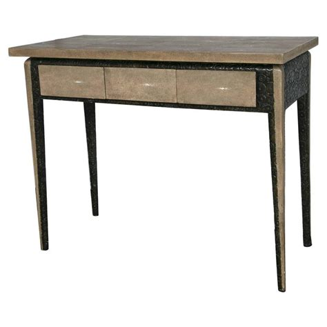 Shagreen Desk by Shagreen Desk Or Console By R Y Augousti For Sale At 1stdibs