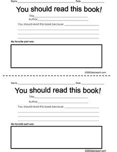 Book Review Template Middle School Pdf 1000 Ideas About Book Reviews On Pinterest Books Online Book Review Template High School Pdf