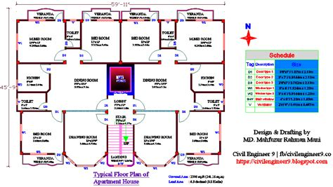 autocad floor plan autocad 2d floor plan for house free download