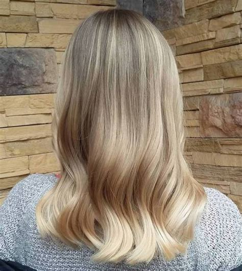 blonde ombres for medium lengths blonde ombre hair ideas best hair color trends 2017