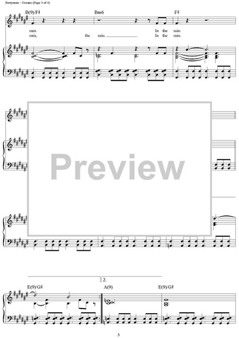 coldplay oceans chords coldplay oceans sheet music onlinesheetmusic com