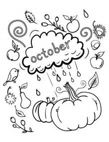 october coloring pages printable october coloring page free pdf at http