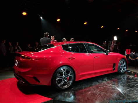 Images Of Front Doors 2018 kia stinger promises bmw beating grand tourer slashgear