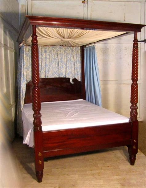 victorian canopy bed victorian mahogany four poster bed large size with