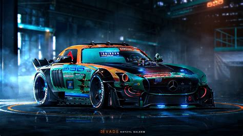 1920x1080 Mercedes, Tuning, Sports Cars, Mercedes Tuning