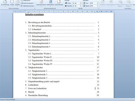 Vorlage Inhaltsverzeichnis Word Problem Bei Inhaltsverzeichnis Mir Microsoft Word Erstellen