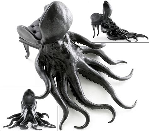 Octopus Chair by Maximo Riera Octopus Chair
