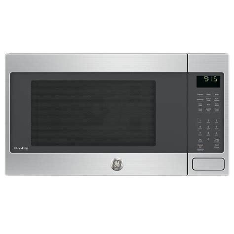 Countertop Convection Microwave Reviews by Ge Profile 1 5 Cu Ft Countertop Convection Microwave