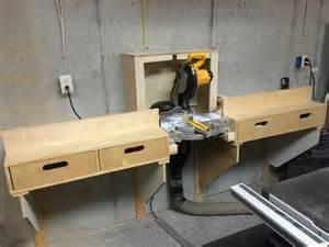 Table Saw Blade Reviews Miter Saw Station By Jimatlumberjocks Lumberjocks Com