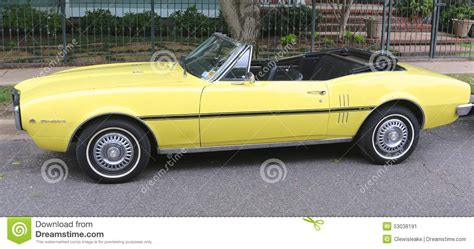 general motors pontiac division firebird convertible editorial photo image of power