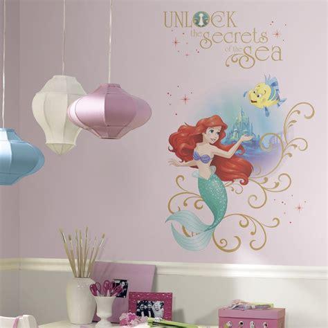 ariel wall stickers new mermaid wall decals disney princess ariel stickers room decor ebay