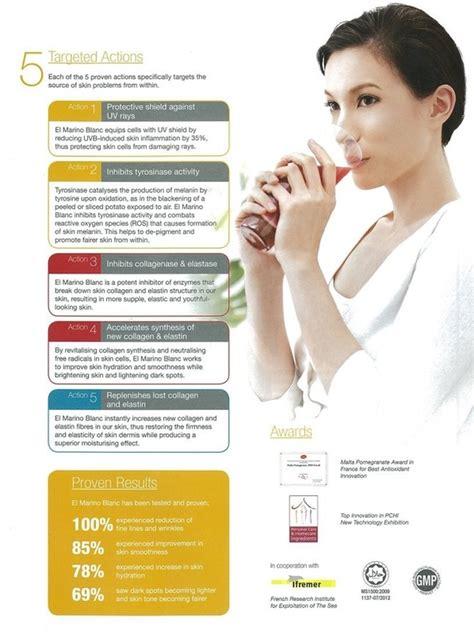 El Marino Collagen Drink health drink el marino blanc de luxe