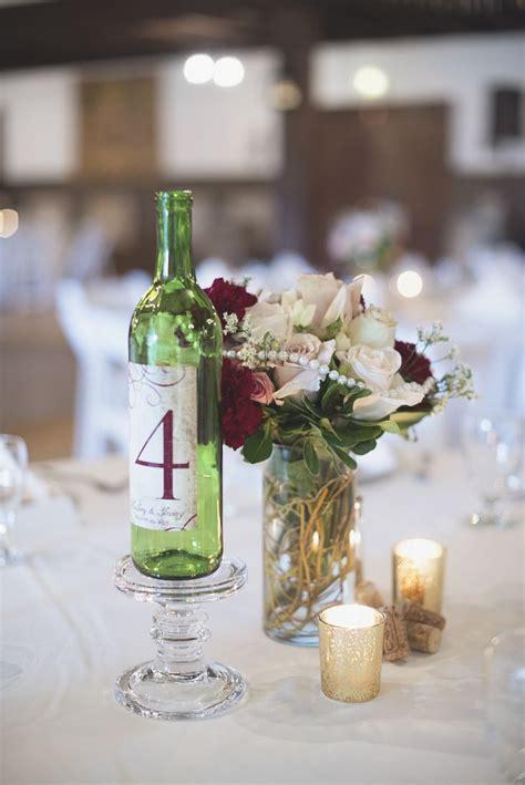 Williamsburg Winery Wedding   Wine bottle and marsala