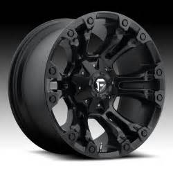 Truck Wheels Fuel Vapor D560 Matte Black Custom Truck Wheels Rims