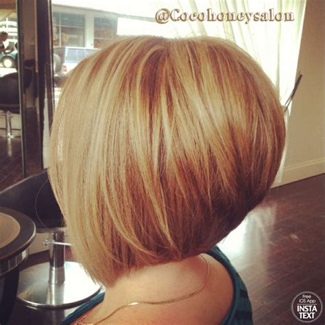short concave hairstyles 2014 razor cut concave bob golden blonde base with lightest
