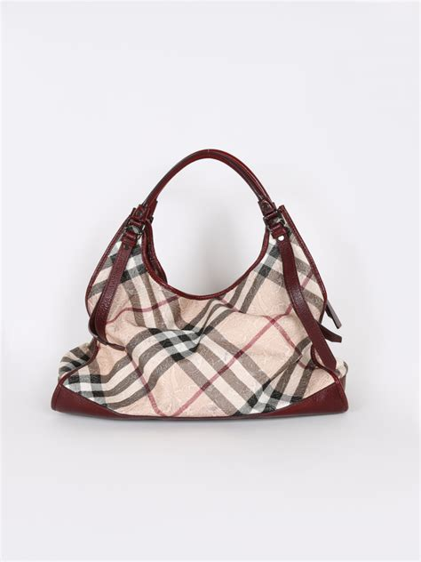 Embossed Tote burberry floral embossed check tote bag luxury bags