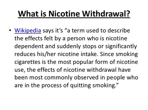 Detox Nicotine In 24 Hours by Ways To Cope With Nicotine Withdrawal Symptoms