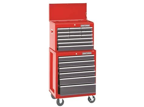 craftsman 5 drawer tool chest and cabinet craftsman rolling tool chest cabinet