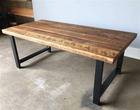 oak wood table legs 1000 ideas about reclaimed wood coffee table on
