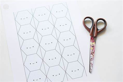 hexagons templates happy hexagons by wildolive printable templates for