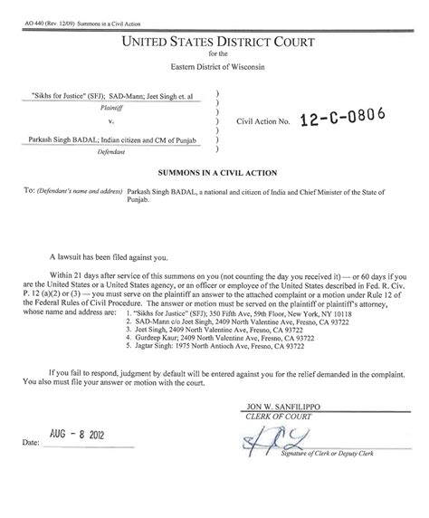 Federal District Court Records Tennessee Child Support Enforcement Nationwide Process