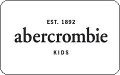 Check Your Abercrombie Gift Card Balance - buy abercrombie kids gift card abercrombie kids discount gift cards
