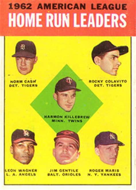1963 topps baseball gallery the trading card database