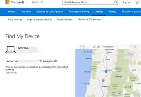 Find My Device How To Track Or Find Your Lost Windows 10 Laptop