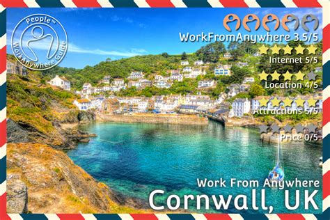best places to work from home work from anywhere cornwall uk hr