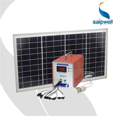 Saip/Saipwell 12V/17AH Portable Solar System Generator,2