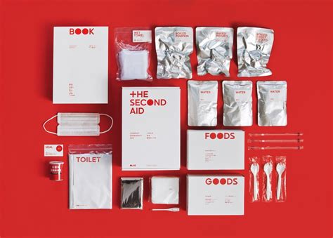 design kit the second aid a life saving disaster kit designed by